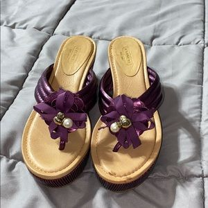 Sandals wedges Coach